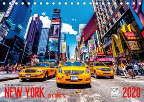 New York in Colors 2020 (Tischkalender 2020 DIN A5 quer) von SEIFINGER,  TOBY