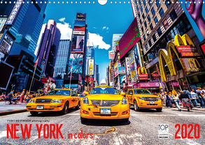 New York in Colors 2020 (Wandkalender 2020 DIN A3 quer) von SEIFINGER,  TOBY