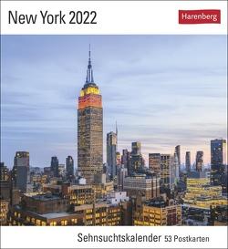 New York Kalender 2022 von Harenberg, Heeb,  Christian