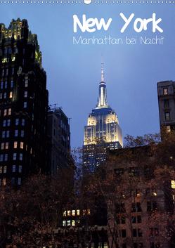 New York – Manhattan bei Nacht (Wandkalender 2020 DIN A2 hoch) von Thiem-Eberitsch,  Jana