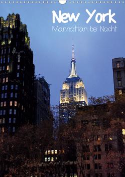 New York – Manhattan bei Nacht (Wandkalender 2020 DIN A3 hoch) von Thiem-Eberitsch,  Jana