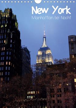 New York – Manhattan bei Nacht (Wandkalender 2020 DIN A4 hoch) von Thiem-Eberitsch,  Jana