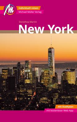 New York MM-City Reiseführer Michael Müller Verlag von Martin,  Dorothea