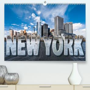 New York (Premium, hochwertiger DIN A2 Wandkalender 2020, Kunstdruck in Hochglanz) von Bruhn,  Olaf