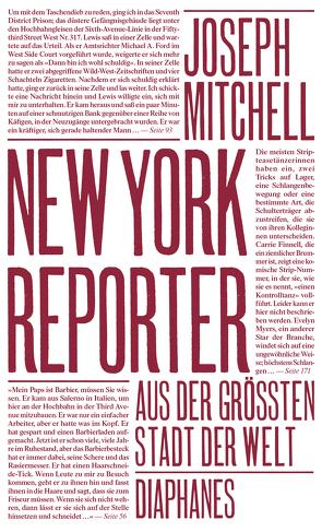 New York Reporter von Koch,  Sven, Mitchell,  Joseph, Stumpf,  Andrea