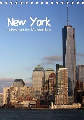 New York – sehenswertes Manhattan (Tischkalender 2018 DIN A5 hoch) von Thiem-Eberitsch,  Jana