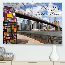 New York – Stadt deiner Träume (Premium, hochwertiger DIN A2 Wandkalender 2020, Kunstdruck in Hochglanz) von Albilt,  Rabea