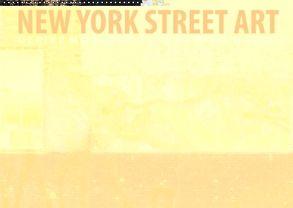 New York Street Art Kalender (Wandkalender 2018 DIN A2 quer) von Daske,  Frank, Morlock-Fien,  Ulrike