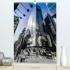 NEW YORK – street view (CH-Version) (Premium, hochwertiger DIN A2 Wandkalender 2021, Kunstdruck in Hochglanz) von Schöb,  Monika, www.yourpagemaker.de, YOUR pageMaker,  ©