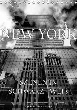 New York – Szenen in Schwarz – Weiß (Tischkalender 2018 DIN A5 hoch) von Helmke,  Sebastian