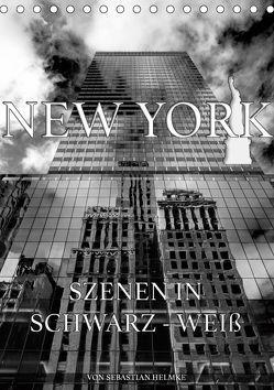New York – Szenen in Schwarz – Weiß (Tischkalender 2019 DIN A5 hoch)
