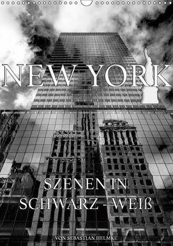 New York – Szenen in Schwarz – Weiß (Wandkalender 2019 DIN A3 hoch)