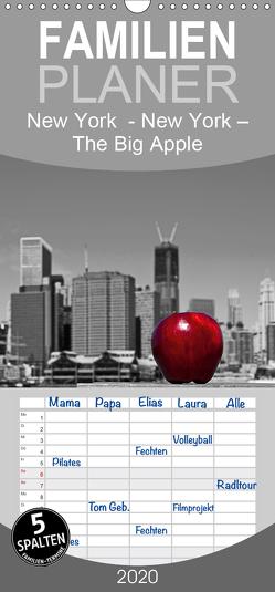 New York – The Big Apple – Familienplaner hoch (Wandkalender 2020 , 21 cm x 45 cm, hoch) von Härlein,  Peter