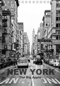New York – The Big Apple (Tischkalender 2019 DIN A5 hoch) von Klar,  Diana