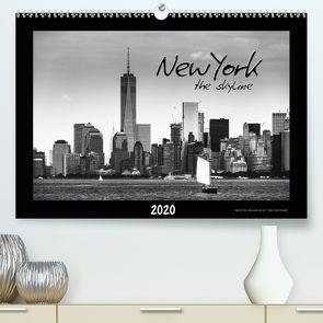 NEW YORK – the skyline (Premium, hochwertiger DIN A2 Wandkalender 2020, Kunstdruck in Hochglanz) von SEIFINGER,  TOBY
