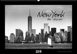 NEW YORK – the skyline (Wandkalender 2018 DIN A2 quer) von SEIFINGER,  TOBY
