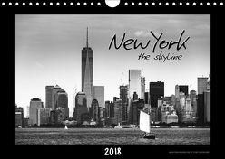 NEW YORK – the skyline (Wandkalender 2018 DIN A4 quer) von SEIFINGER,  TOBY