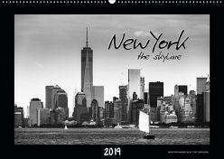 NEW YORK – the skyline (Wandkalender 2019 DIN A2 quer) von SEIFINGER,  TOBY