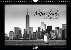 NEW YORK – the skyline (Wandkalender 2019 DIN A4 quer) von SEIFINGER,  TOBY