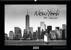 NEW YORK – the skyline (Wandkalender 2020 DIN A2 quer) von SEIFINGER,  TOBY