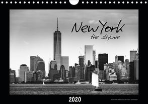 NEW YORK – the skyline (Wandkalender 2020 DIN A4 quer) von SEIFINGER,  TOBY