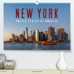 New York – United States of America (Premium, hochwertiger DIN A2 Wandkalender 2020, Kunstdruck in Hochglanz) von Benninghofen,  Jens