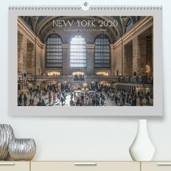 New York – Von Brooklyn zur Grand Central Station (Premium, hochwertiger DIN A2 Wandkalender 2020, Kunstdruck in Hochglanz) von Ermel,  Michael