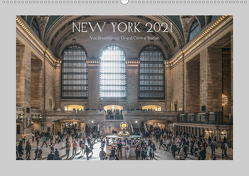 New York – Von Brooklyn zur Grand Central Station (Wandkalender 2021 DIN A2 quer) von Ermel,  Michael