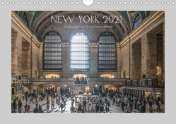 New York – Von Brooklyn zur Grand Central Station (Wandkalender 2021 DIN A4 quer) von Ermel,  Michael