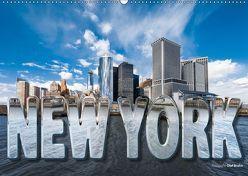 New York (Wandkalender 2019 DIN A2 quer) von Bruhn,  Olaf