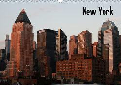 New York (Wandkalender 2021 DIN A3 quer) von Herkens,  Monika
