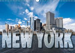 New York (Wandkalender 2021 DIN A3 quer) von Bruhn,  Olaf