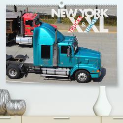 NEW YORK XXL Trucks and Limos (Premium, hochwertiger DIN A2 Wandkalender 2020, Kunstdruck in Hochglanz) von Oelschläger,  Wilfried
