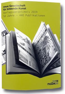 nGbK: 50 Jahre – 440 Publikationen