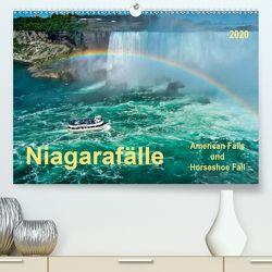Niagarafälle – American Falls und Horseshoe Fall (Premium, hochwertiger DIN A2 Wandkalender 2020, Kunstdruck in Hochglanz) von Roder,  Peter