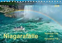 Niagarafälle – American Falls und Horseshoe Fall (Tischkalender 2019 DIN A5 quer) von Roder,  Peter