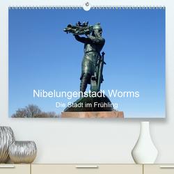 Nibelungenstadt Worms Die Stadt im Frühling (Premium, hochwertiger DIN A2 Wandkalender 2021, Kunstdruck in Hochglanz) von Andersen,  Ilona