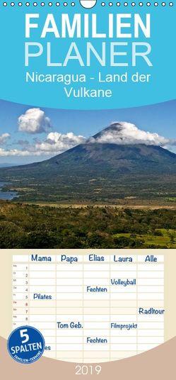 Nicaragua – Land der Vulkane – Familienplaner hoch (Wandkalender 2019 , 21 cm x 45 cm, hoch) von boeTtchEr,  U