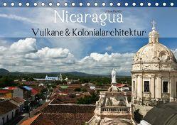 Nicaragua – Vulkane und Kolonialarchitektur (Tischkalender 2019 DIN A5 quer) von boeTtchEr,  U