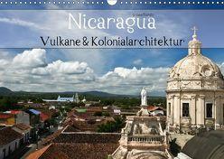 Nicaragua – Vulkane und Kolonialarchitektur (Wandkalender 2018 DIN A3 quer) von boeTtchEr,  U