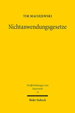 Nichtanwendungsgesetze von Maciejewski,  Tim