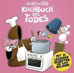 Kochbuch des Todes von Evers,  Malte, Sauer,  Joscha