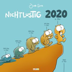 Nichtlustig Wandkalender 2020 von Sauer,  Joscha
