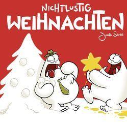 Nichtlustig Weihnachten von Sauer,  Joscha