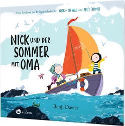 Nick und der Sommer mit Oma von Davies,  Benji, Hohnhold,  Johanna