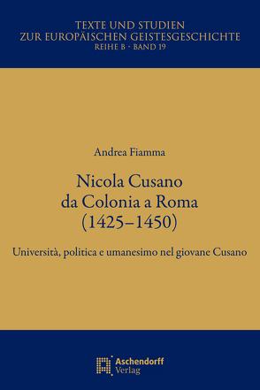 Nicola Cusa a Cologna von Fiamma,  Andrea