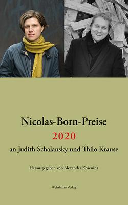 Nicolas-Born-Preise 2020 von Košenina,  Alexander, Krause,  Thilo, Schalansky,  Judith