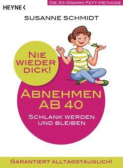 Nie wieder dick – Abnehmen ab 40 von Schmidt,  Susanne