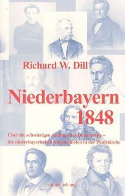 Niederbayern 1848 von Dill,  Richard W, Vogel,  Hans J