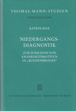 Niedergangsdiagnostik von Max,  Katrin